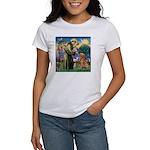 Saint Francis' Golden Women's T-Shirt