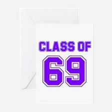 Groovy Class of 69 Greeting Cards (Pk of 10)