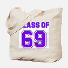 Groovy Class of 69 Tote Bag