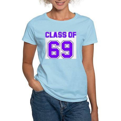 Groovy Class of 69 Women's Pink T-Shirt