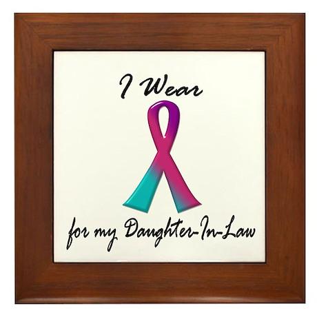 Thyroid Ribbon 1 (Daughter-In-Law) Framed Tile