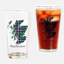 Map-MacFarlane hunting Drinking Glass