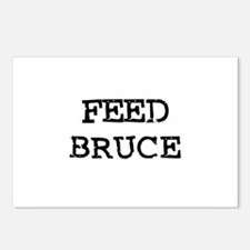 Feed Bruce Postcards (Package of 8)