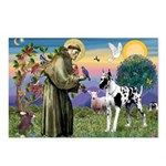 St. Francis & Great Dane Postcards (Package of 8)