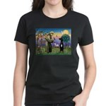 St Francis / Black G-Dane (N) Women's Dark T-Shirt