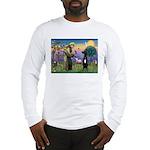 St Francis / Black G-Dane (N) Long Sleeve T-Shirt
