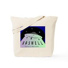 Roswell UFO Tote Bag