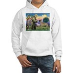 Saint Francis' Great Dane Hooded Sweatshirt