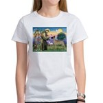 Saint Francis' Great Dane Women's T-Shirt