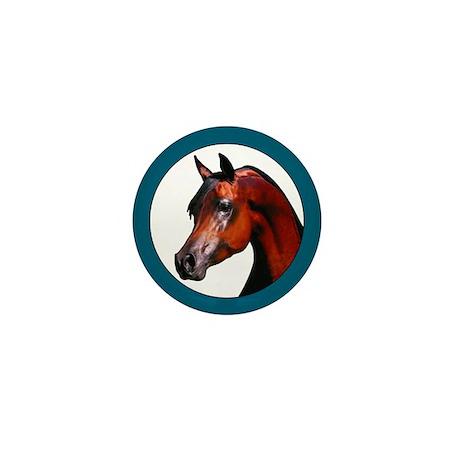 Perfect Arabian Horse Mini Button