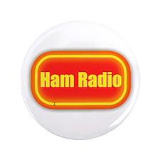 """Ham Radio (retro look) 3.5"""" Button"""