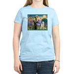 St. Francis & Great Pyrenees Women's Light T-Shir