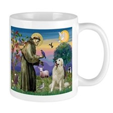 St. Francis & Great Pyrenees Mug