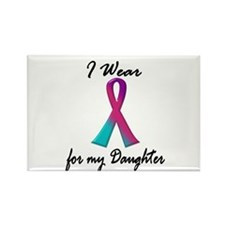 Thyroid Ribbon 1 (Daughter) Rectangle Magnet