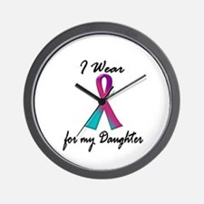Thyroid Ribbon 1 (Daughter) Wall Clock