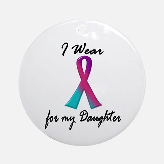 Thyroid Ribbon 1 (Daughter) Ornament (Round)