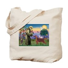 St. Fran./ Irish Setter Tote Bag