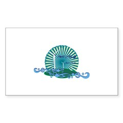 WIND FIELD Rectangle Decal