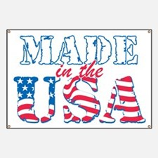 Made in the USA Banner
