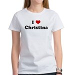 I Love Christina Women's T-Shirt