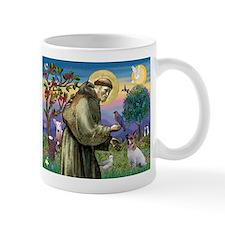 St. Francis & Jack Russell Terrier Mug