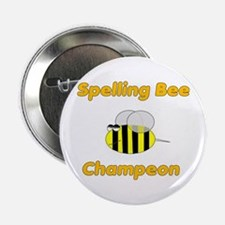 Spelling Bee Champion Button