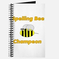 Spelling Bee Champion Journal