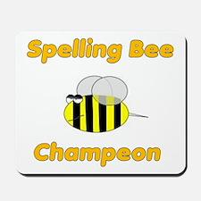 Spelling Bee Champion Mousepad