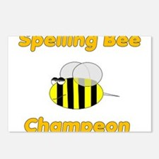 Spelling Bee Champion Postcards (Package of 8)