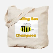 Spelling Bee Champion Tote Bag