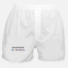 Ironmonger In Training Boxer Shorts