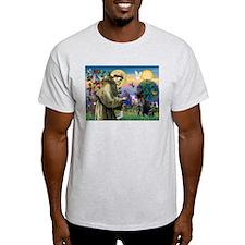 Saint Francis & Black Lab T-Shirt