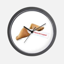 Funky Fortune 7 Wall Clock