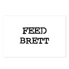 Feed Brett Postcards (Package of 8)