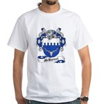 McBarnet Family Crest White T-Shirt
