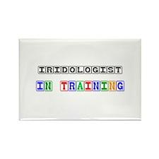 Iridologist In Training Rectangle Magnet