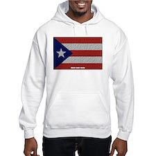 Puerto Rico Cloth Flag Hoodie