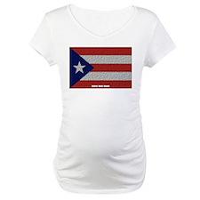 Puerto Rico Cloth Flag Shirt
