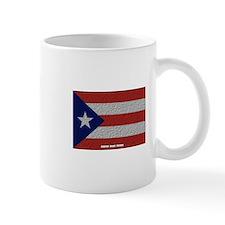 Puerto Rico Cloth Flag Mug