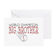 Baseball Big Brother Greeting Card