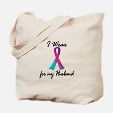 Thyroid Ribbon 1 (Husband) Tote Bag
