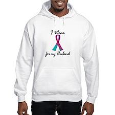 Thyroid Ribbon 1 (Husband) Hoodie