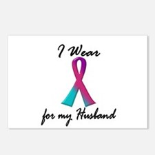 Thyroid Ribbon 1 (Husband) Postcards (Package of 8