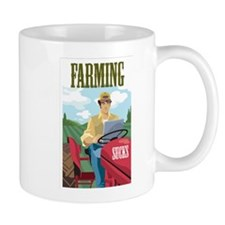 Farming Sucks Mug
