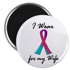 Thyroid Ribbon 1 (Wife) Magnet