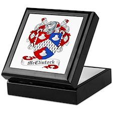 McClintock Family Crest Keepsake Box