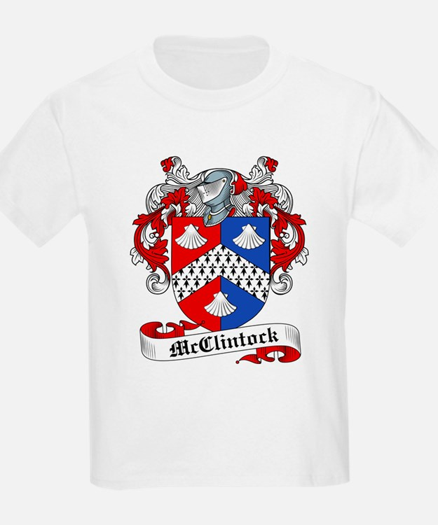 McClintock Family Crest Kids T-Shirt