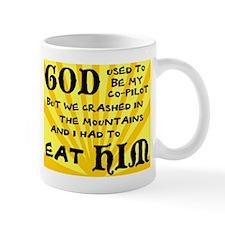 God was my Co-Pilot Mug
