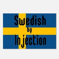 Swedish by Injection Postcards (Package of 8)