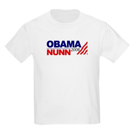 Obama Nunn 2008 Kids Light T-Shirt